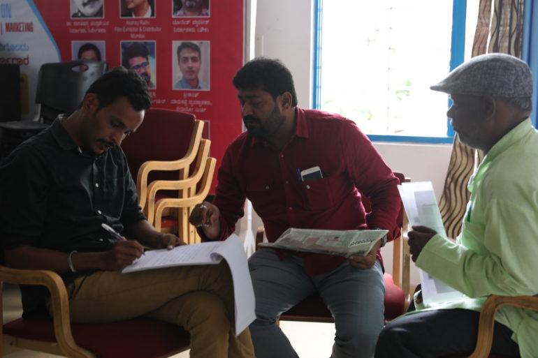 Scriptwriting Workshop at Tent Cinema Bangalore