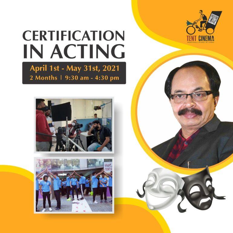 Acting Fulltime April 2021