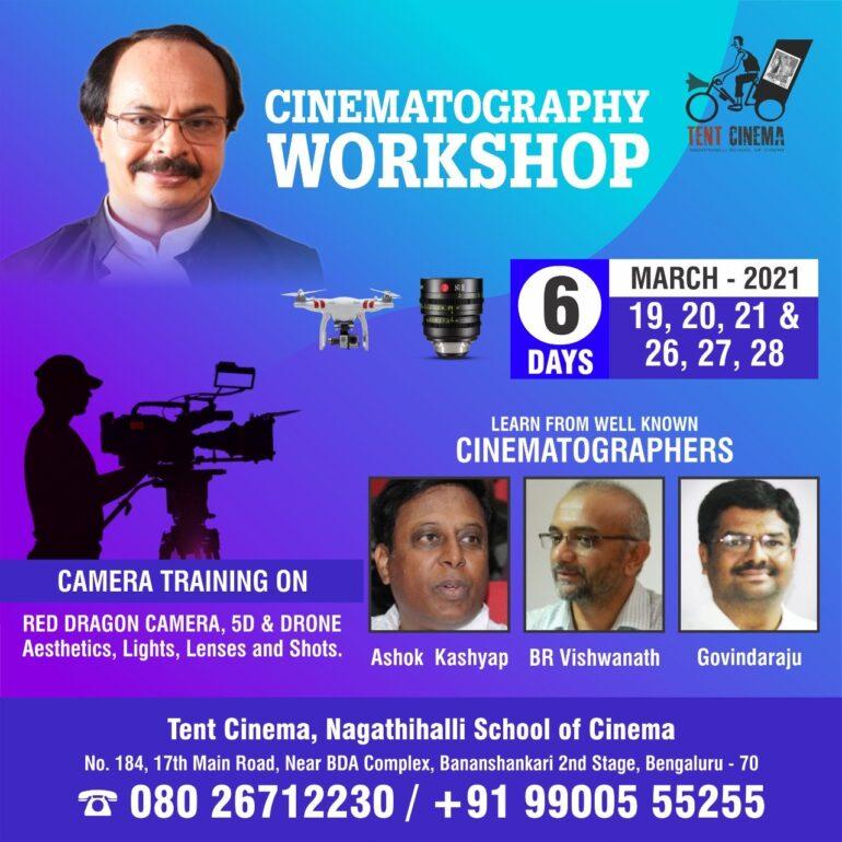 Cinematography Workshop at Tent Cinema