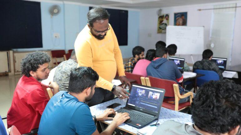 Editing Classes at Tent Cinema