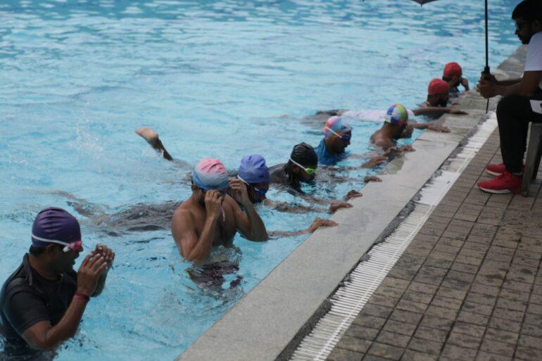 Swimming Classes at Tent Cinema