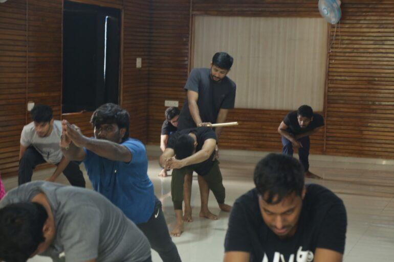 Kalari Classes at Tent Cinema