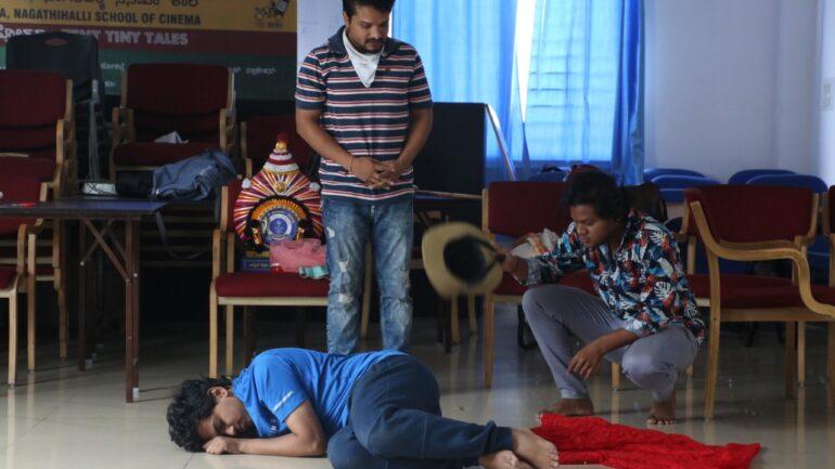 Improvisation in Acting at Tent Cinema