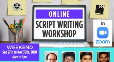 Online Script writing Workshop by Tent Cinema