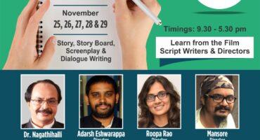 Scriptwriting Workshop by Tent Cinema