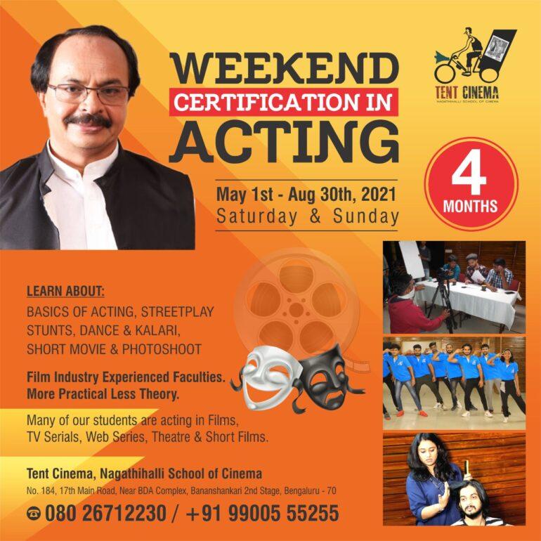 Acting Weekend May 2021